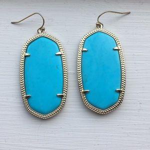 Turquoise Danielle earrings